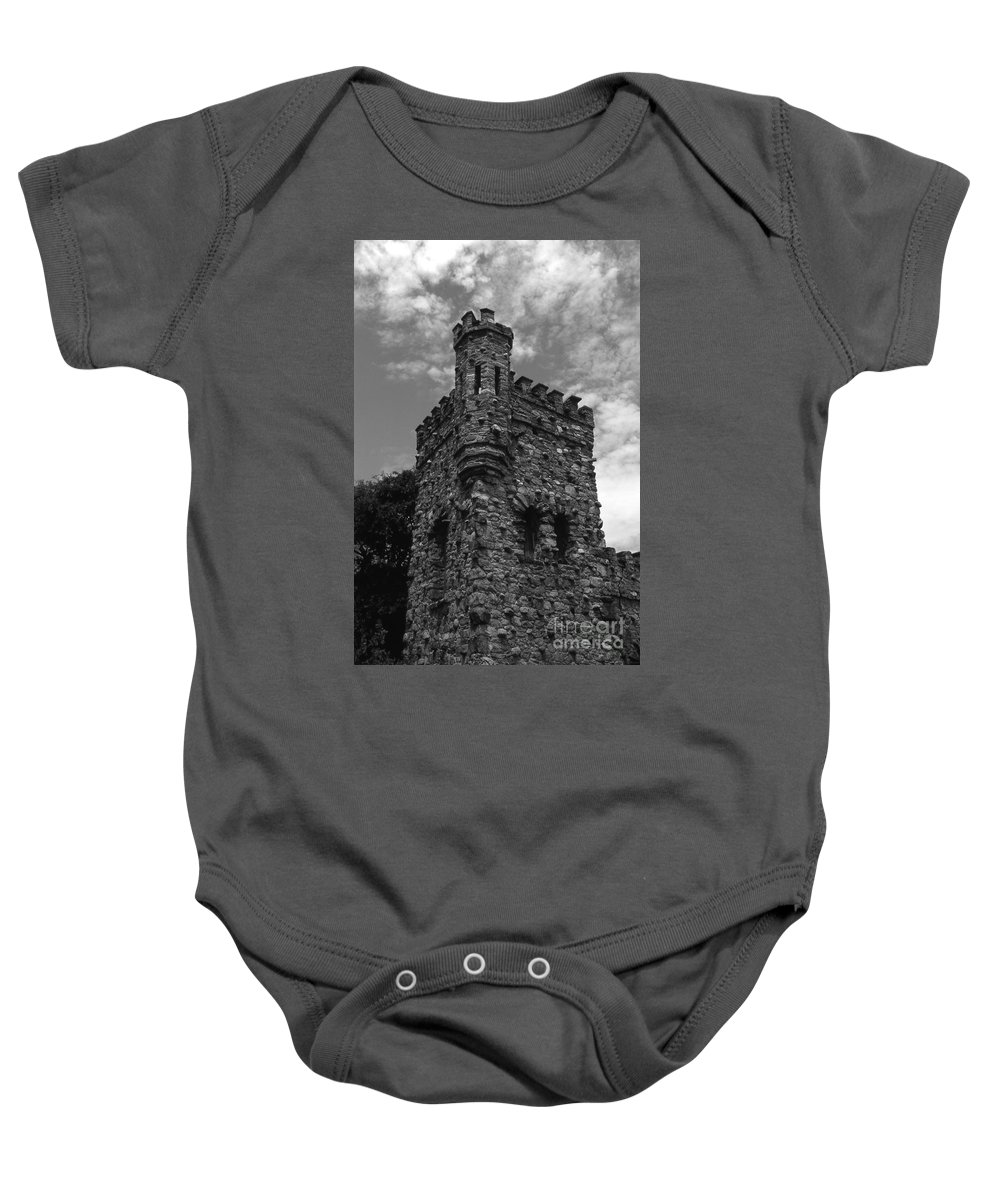 Castle Baby Onesie featuring the photograph Once Upon A Time by Richard Rizzo