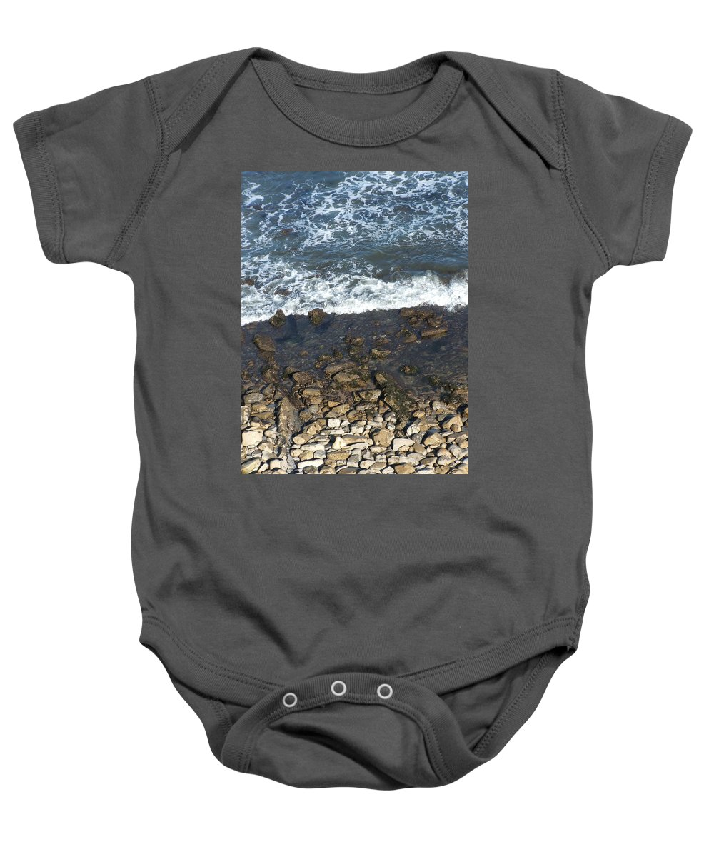 Ocean Baby Onesie featuring the photograph Opponents by Shari Chavira
