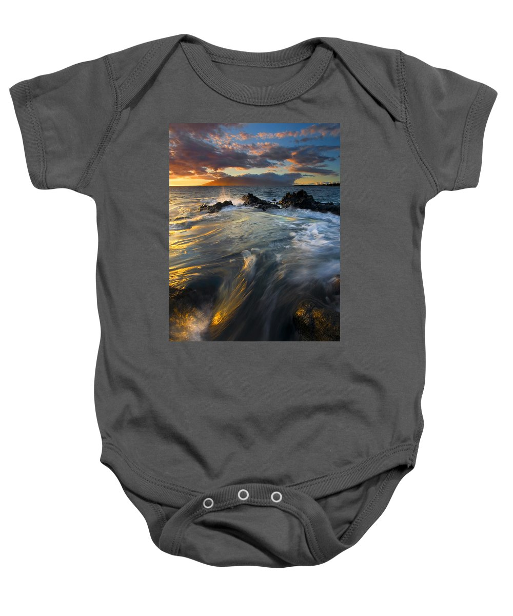 Cauldron Baby Onesie featuring the photograph Overflow by Mike Dawson