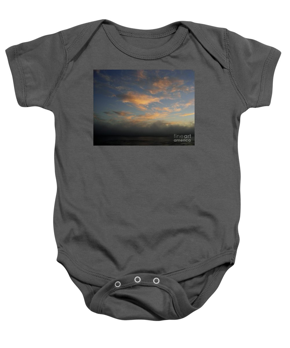 Ocean Baby Onesie featuring the photograph Pacific Grove Sunrise by Mary Rogers
