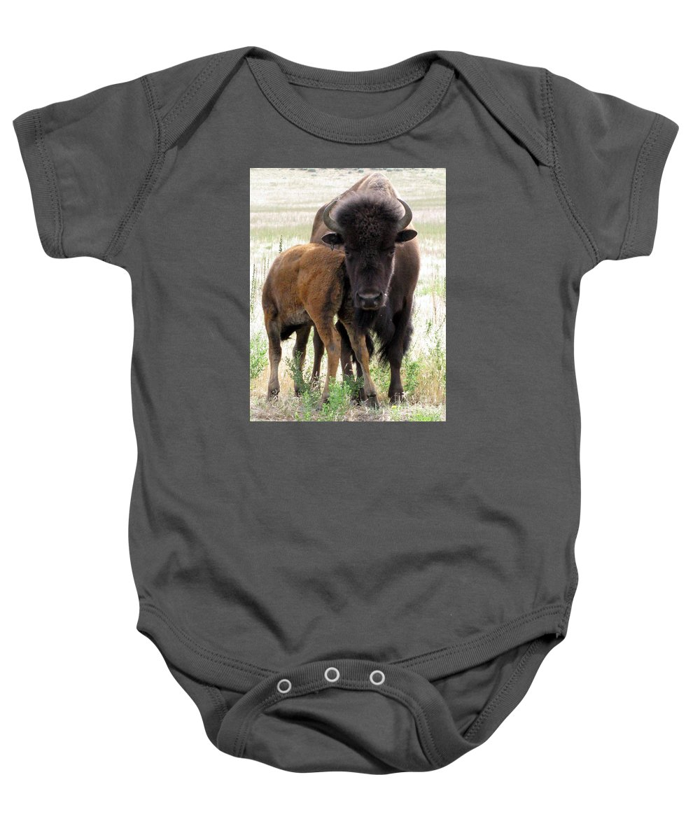 Mother Baby Onesie featuring the photograph Patience by Lisa D'Adamo-Weinstein