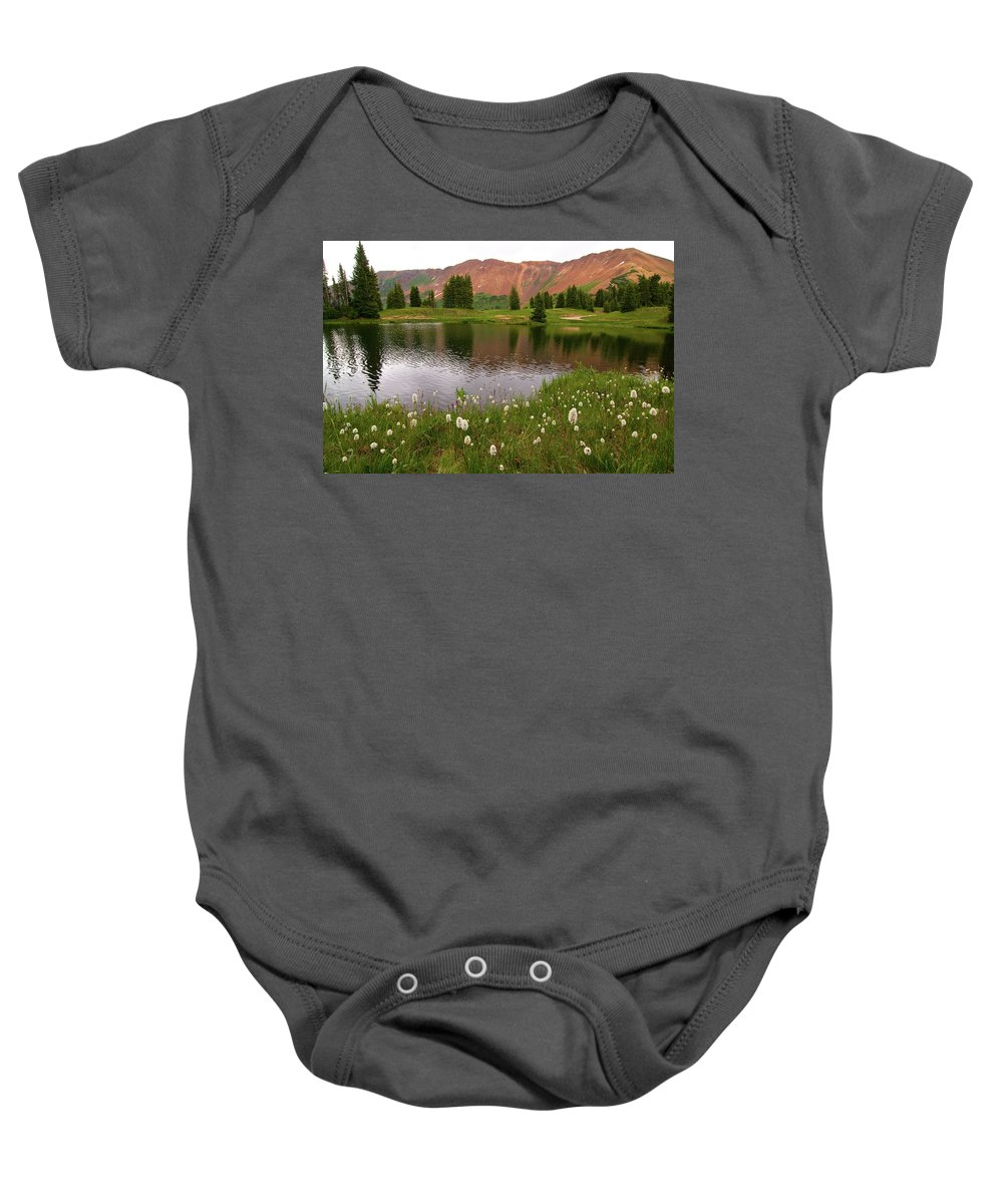 Colorado Baby Onesie featuring the photograph Paradise Basin by Steve Stuller