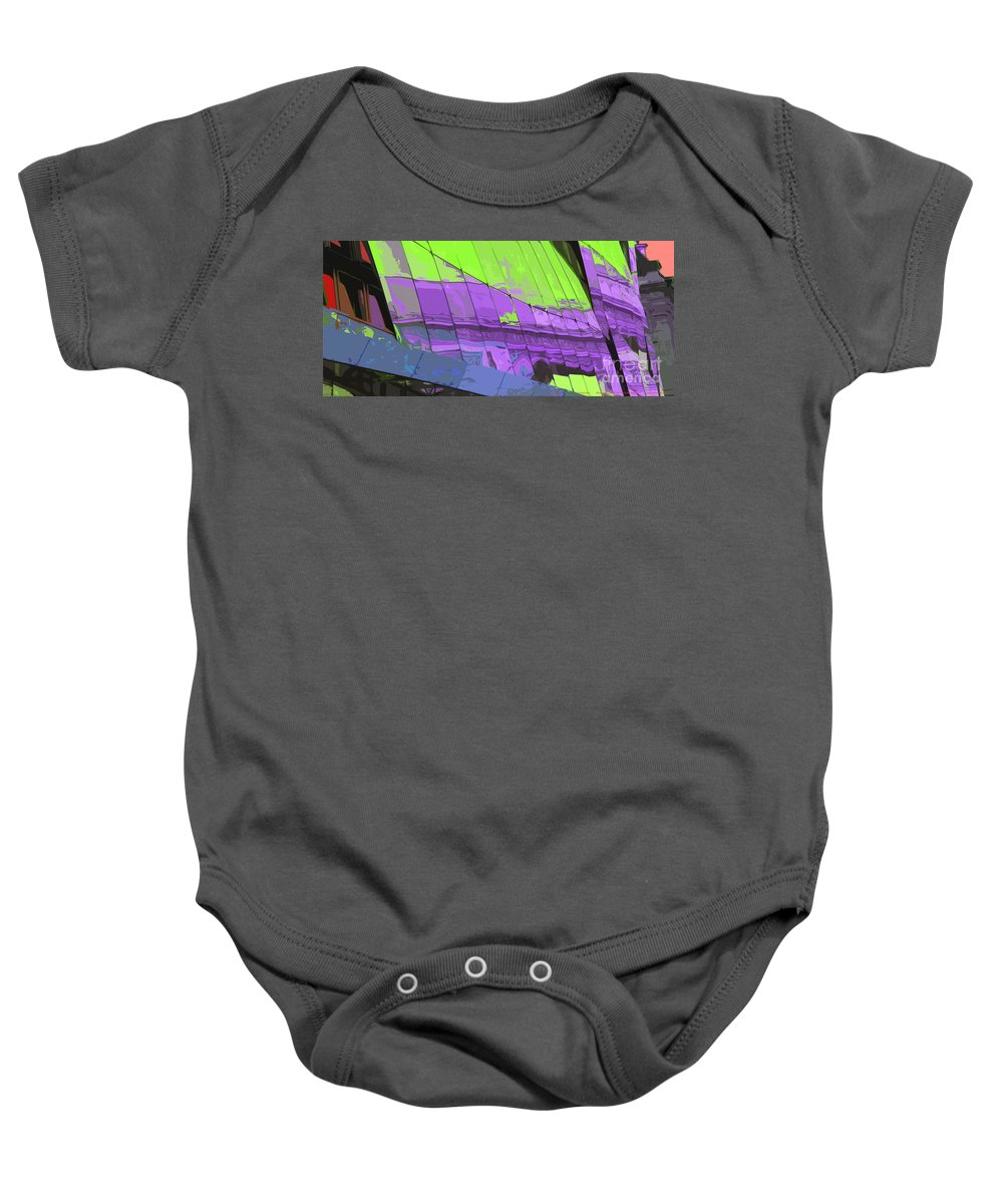 Paris Baby Onesie featuring the photograph Paris Arc De Triomphe by Yuriy Shevchuk