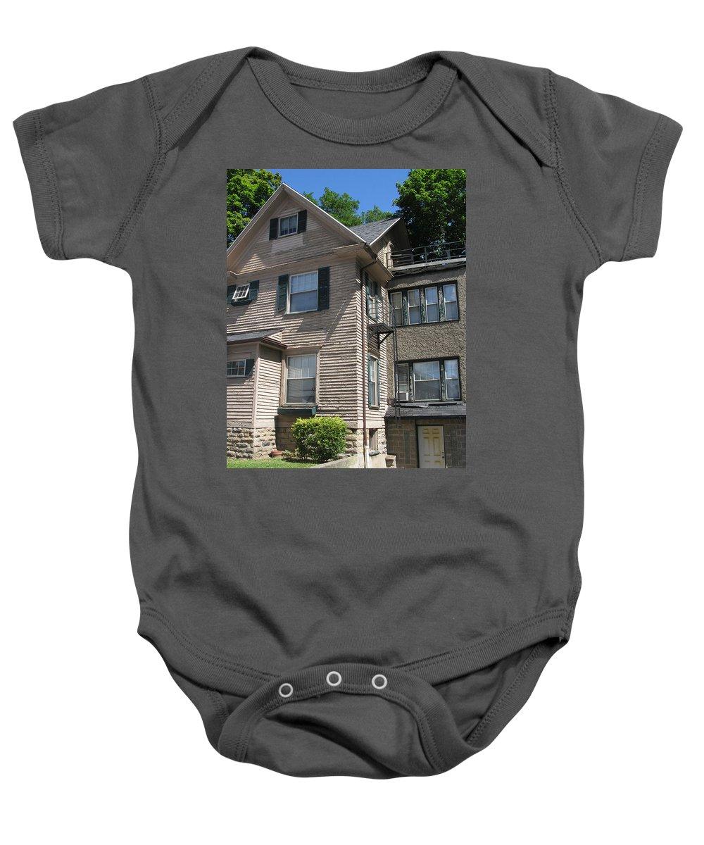 Photo Baby Onesie featuring the photograph Park Avenue House by John Vincent Palozzi