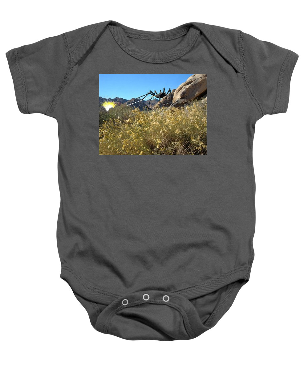 Spider Baby Onesie featuring the digital art Payback by Snake Jagger
