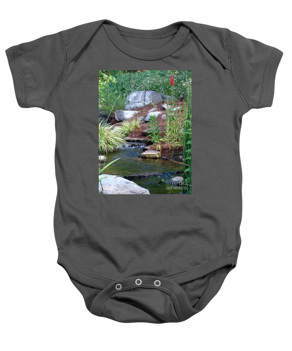 Landscape Baby Onesie featuring the photograph Peaceful by Shelley Jones
