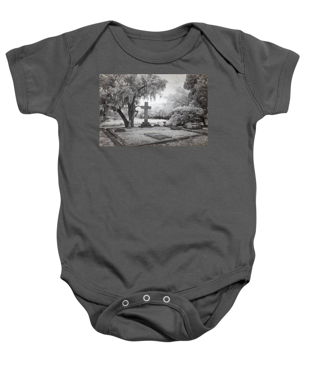 Cindy Archbell Baby Onesie featuring the photograph Peacful Eternity by Cindy Archbell