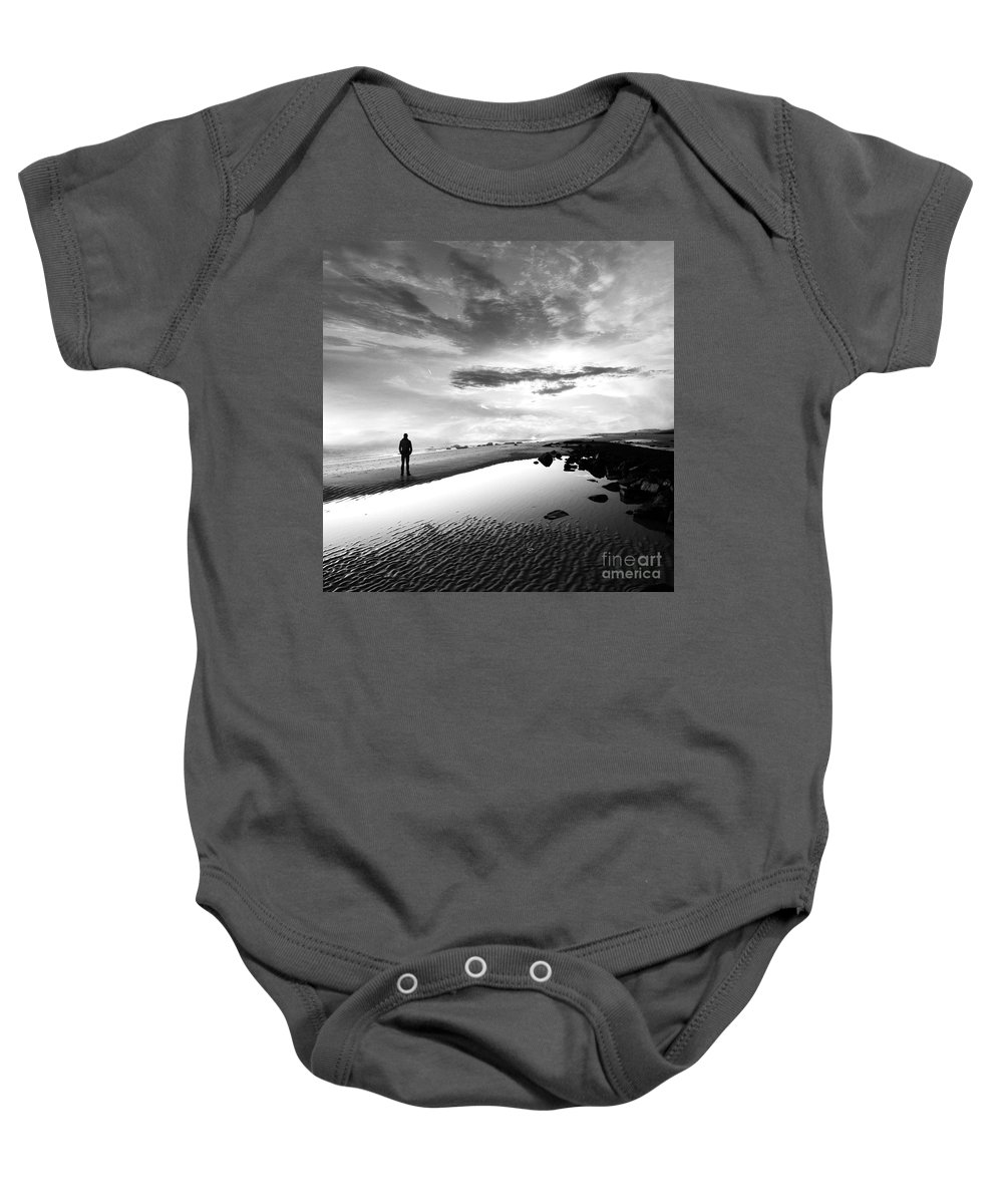 B&w Baby Onesie featuring the photograph Per Sempre by Jacky Gerritsen