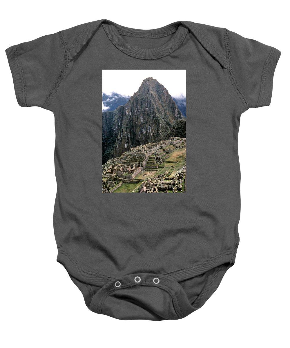15th Century Baby Onesie featuring the photograph Peru: Machu Picchu by Granger