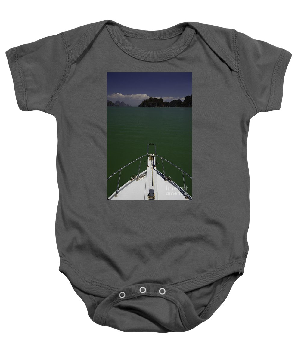 Island Baby Onesie featuring the photograph Phang Nga Province Of Phuket Thailand by Anthony Totah