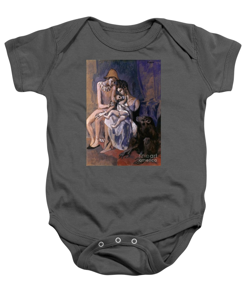 20th Century Baby Onesie featuring the photograph Picasso: Acrobats, 1905 by Granger