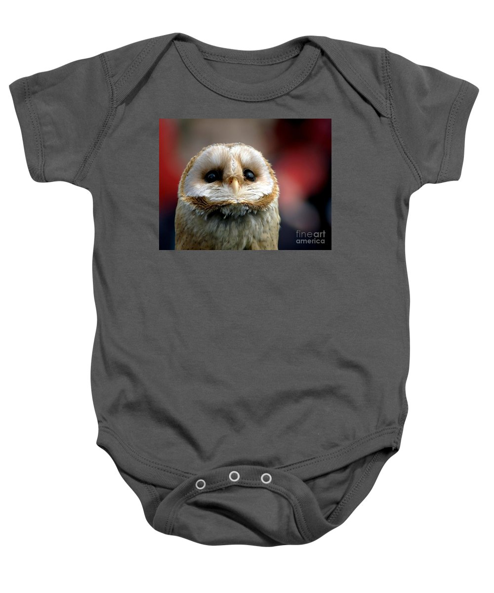Wildlife Baby Onesie featuring the photograph Please by Jacky Gerritsen