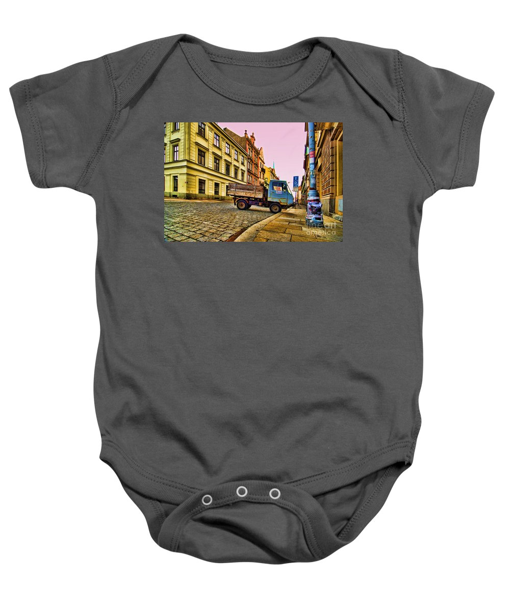 Czech Republic Baby Onesie featuring the photograph Plzen In Hdr Czech Republic by Sabine Jacobs