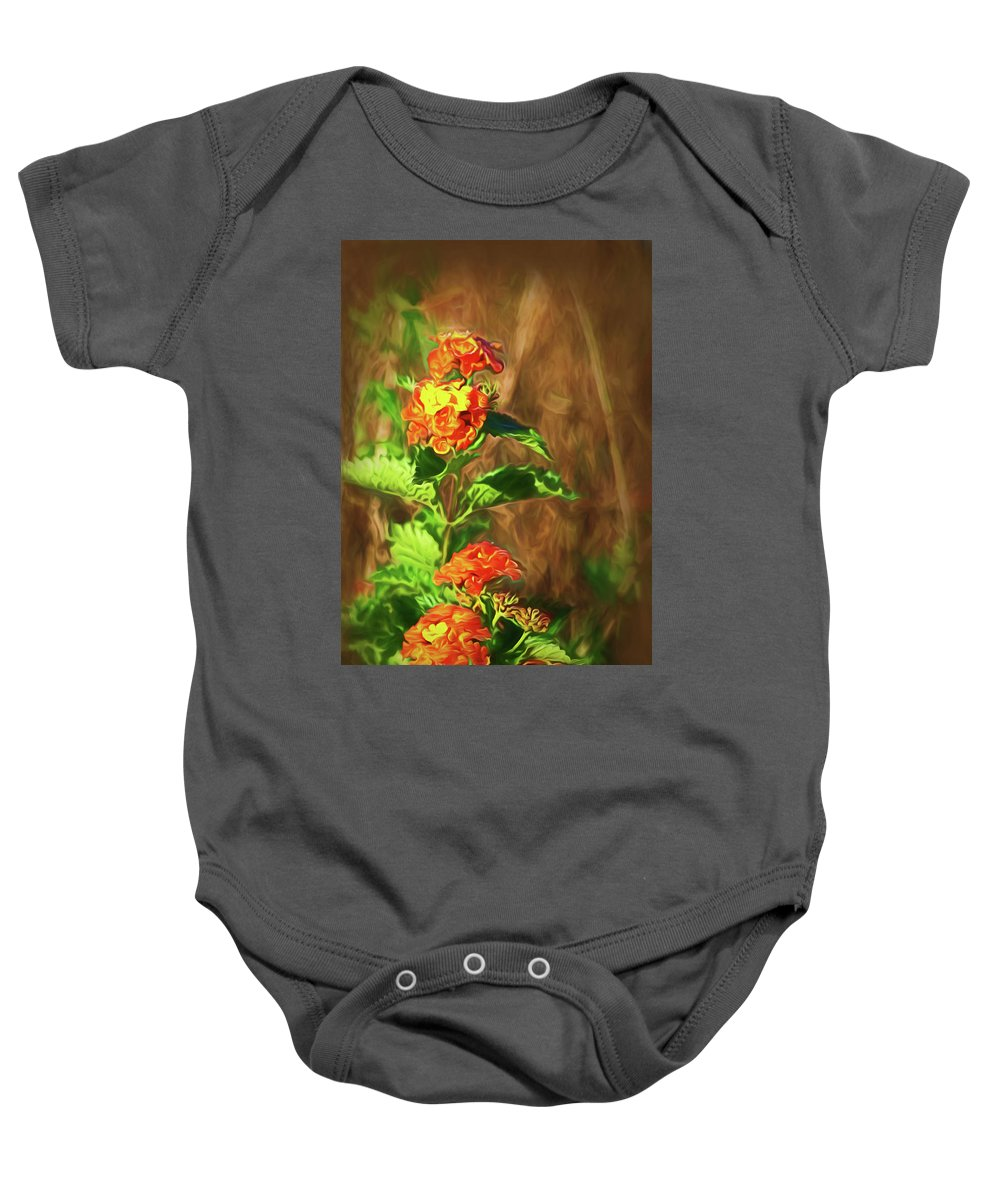 Kingsville Texas Baby Onesie featuring the photograph Prairie Flowers by Marshall Barth