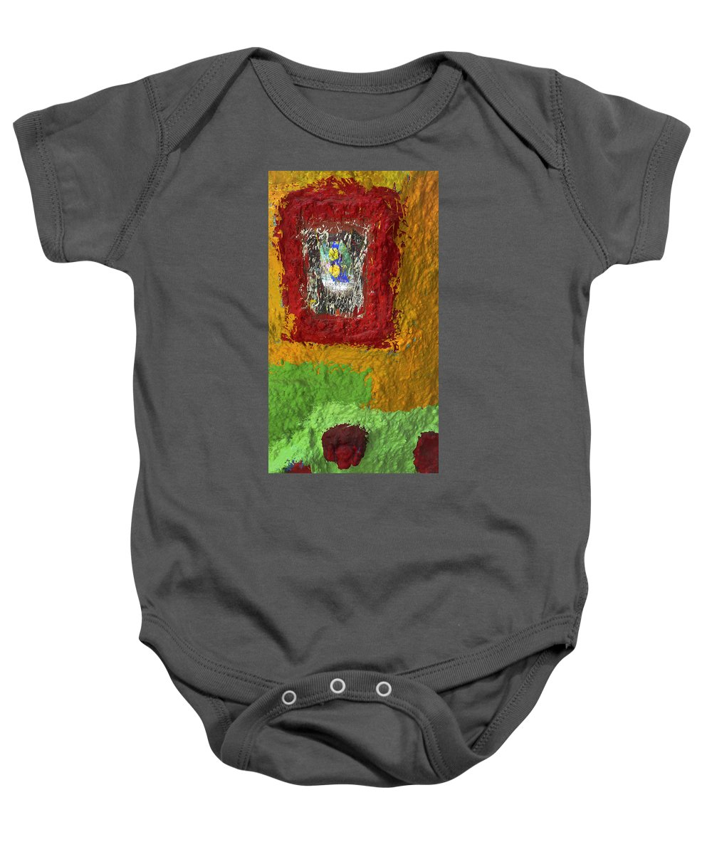 Pretty As A Picture Baby Onesie featuring the photograph Pretty As A Picture by Skip Hunt