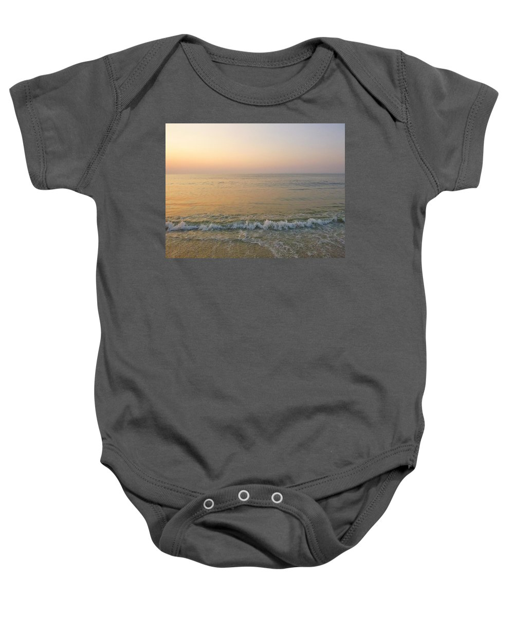 Sunrise Baby Onesie featuring the photograph Pristine by Ellen Paull