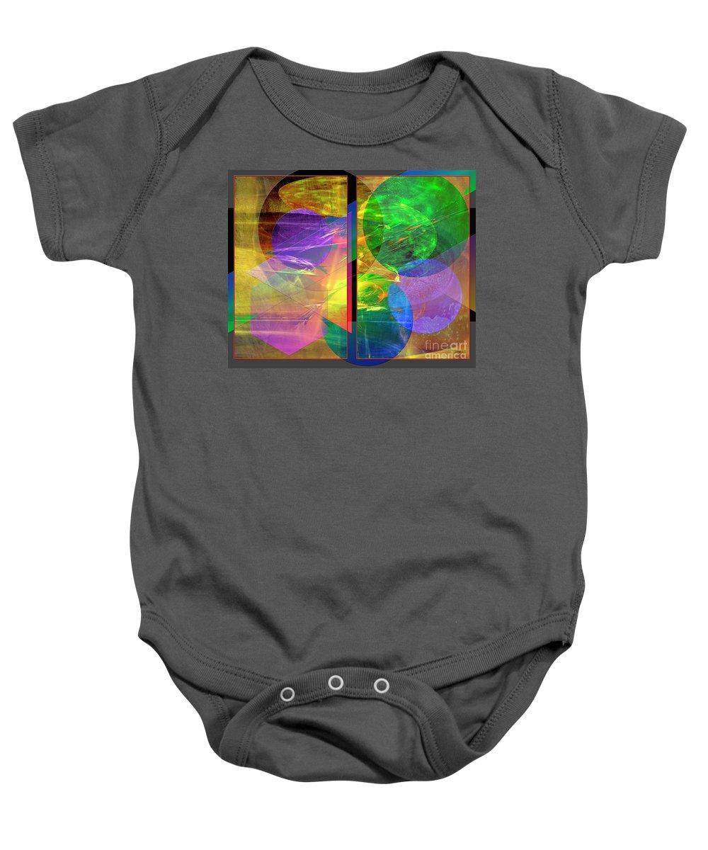 Progressive Intervention Baby Onesie featuring the digital art Progressive Intervention by John Beck