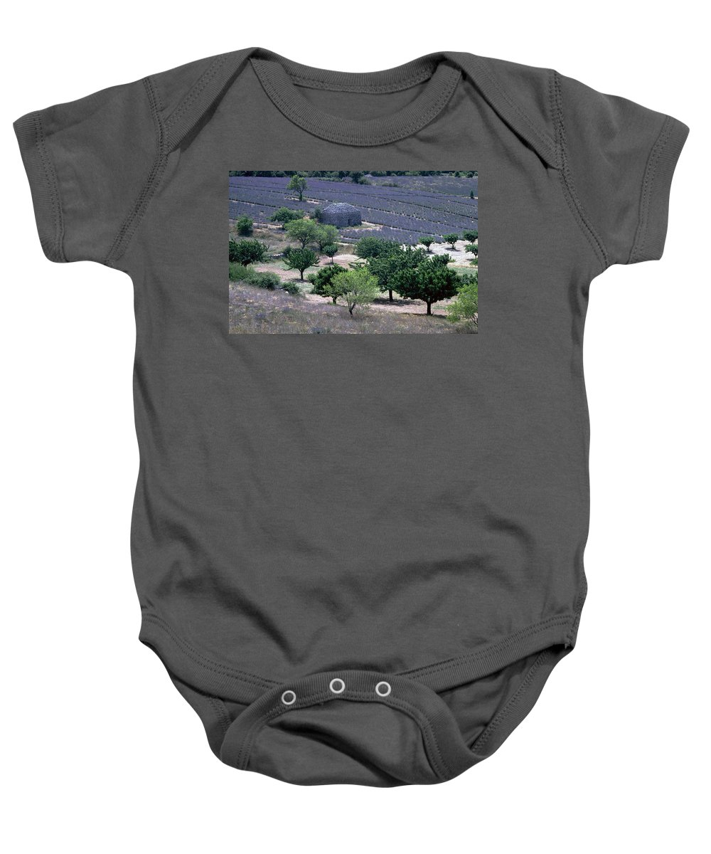 Provence Baby Onesie featuring the photograph Provence by Flavia Westerwelle