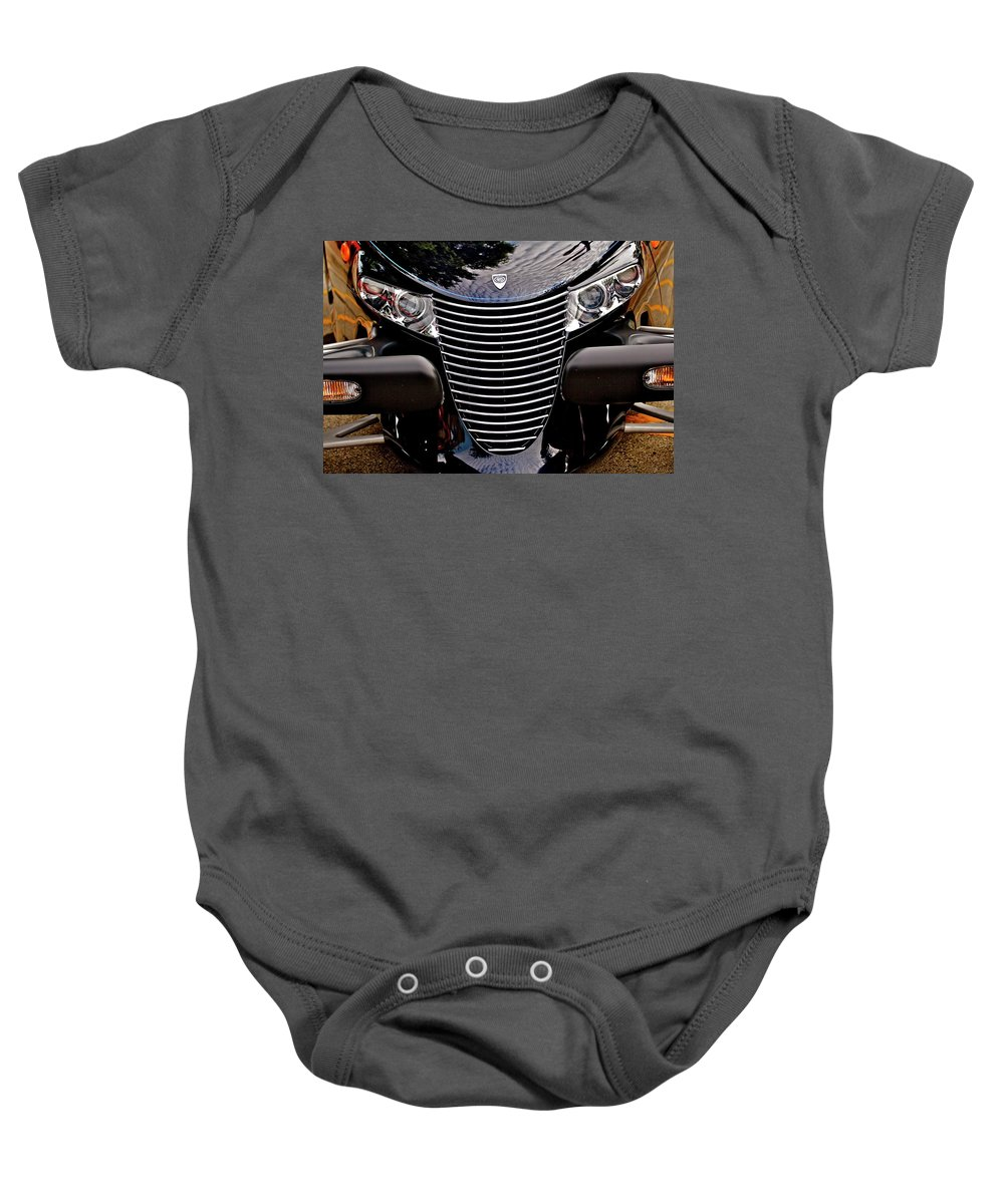 Prowler Baby Onesie featuring the photograph Prowler by John Prickett
