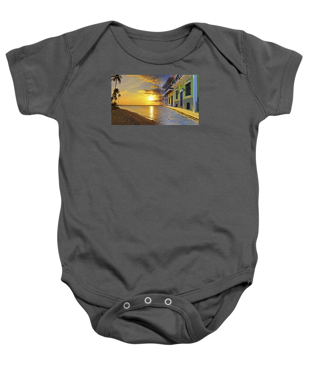 Puerto Rico Baby Onesie featuring the photograph Puerto Rico Montage 1 by Stephen Anderson