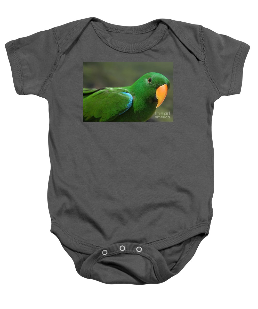 Aloha Baby Onesie featuring the photograph Purity Of Grace by Sharon Mau