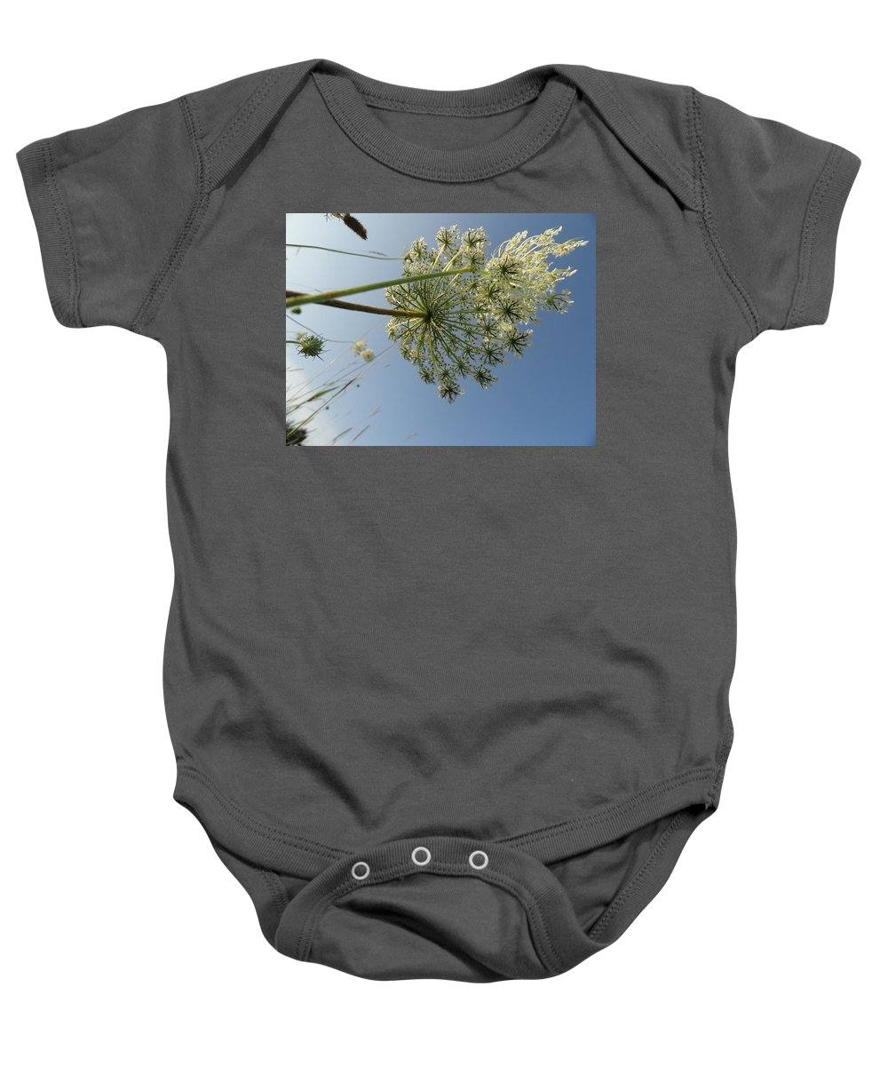Nature Baby Onesie featuring the photograph Queen Anne by Trish Hale
