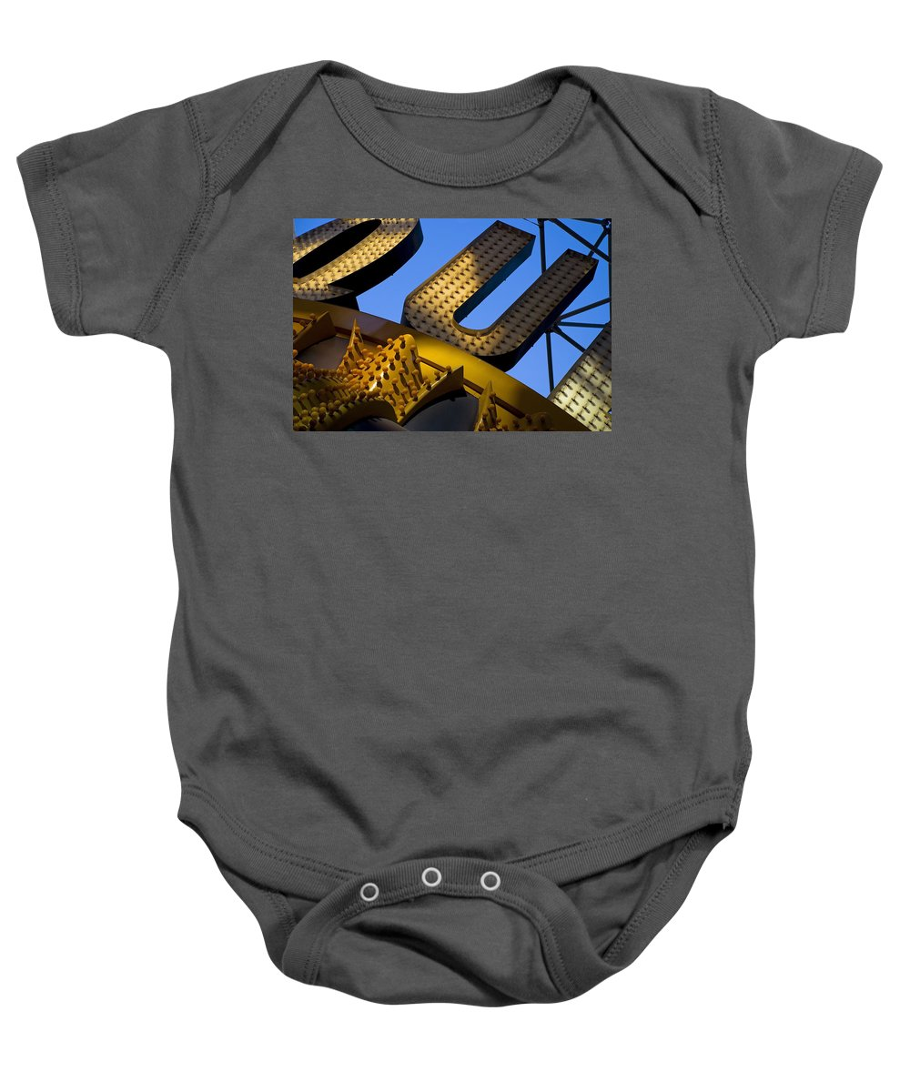 Architecture Baby Onesie featuring the photograph Queen Of Hearts by Skip Hunt