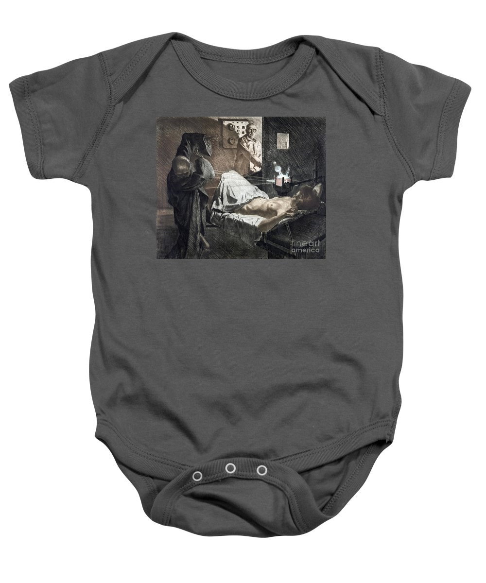 1930 Baby Onesie featuring the photograph Radiologist, C1930 by Granger