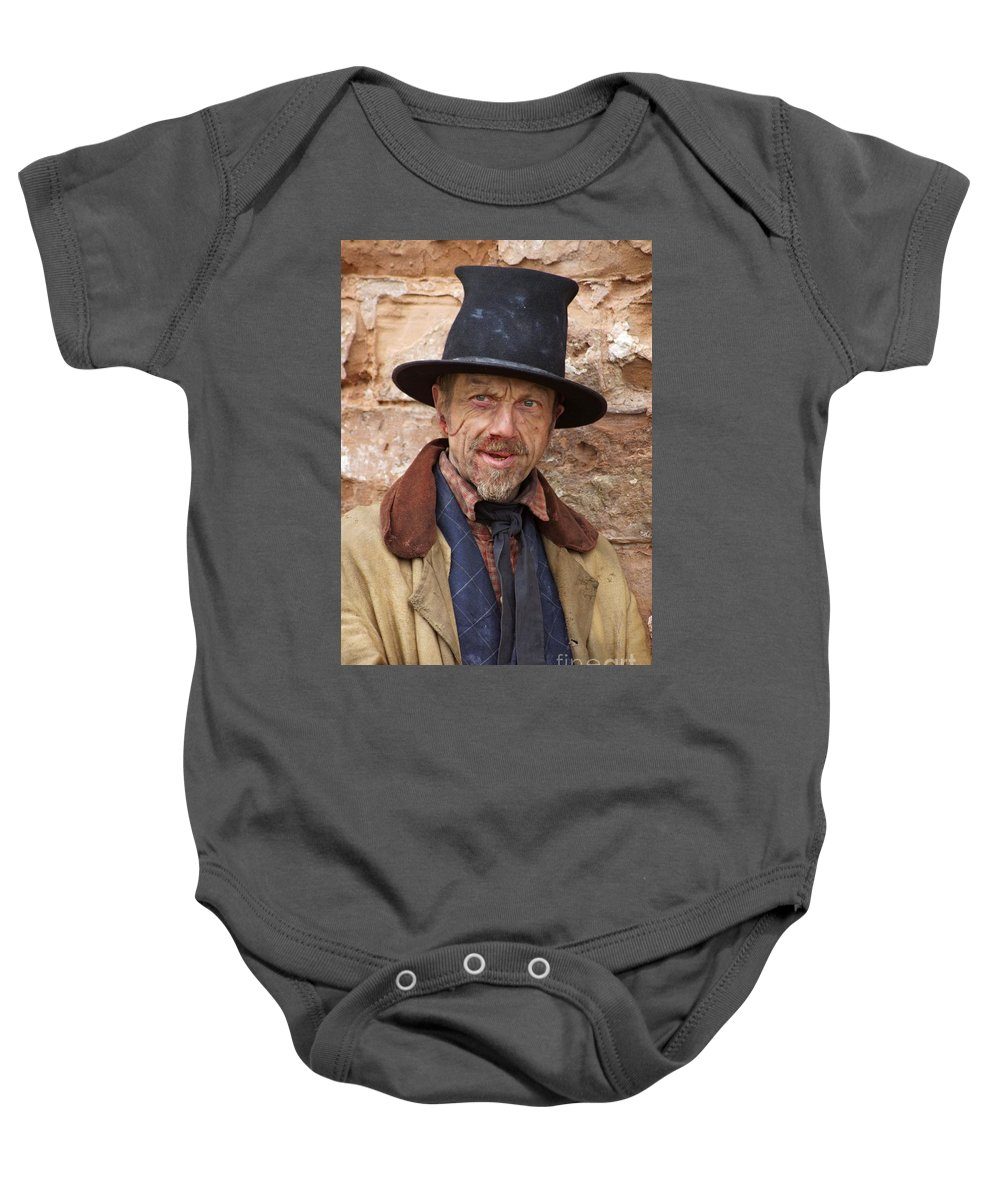 Victorian Baby Onesie featuring the photograph Ragged Victorians 4 by David Birchall