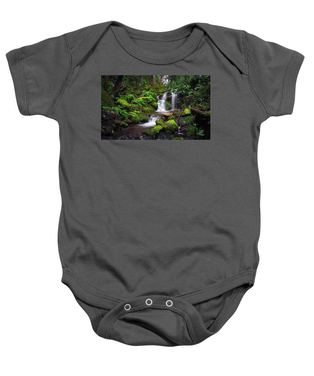 #hawaiilife Baby Onesie featuring the photograph Rainforest by John Simon