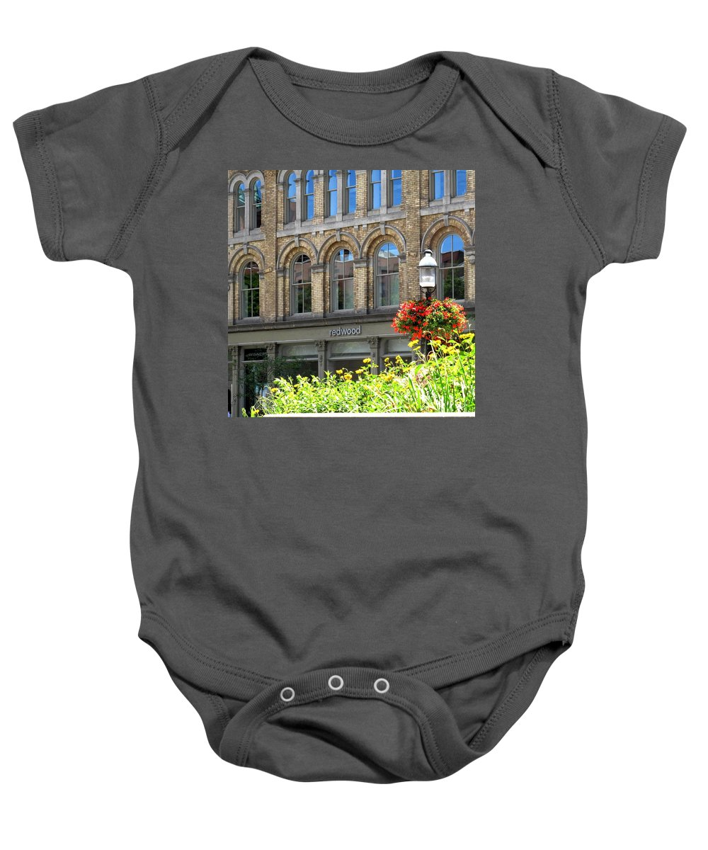 Toronto Baby Onesie featuring the photograph Redwood by Ian MacDonald