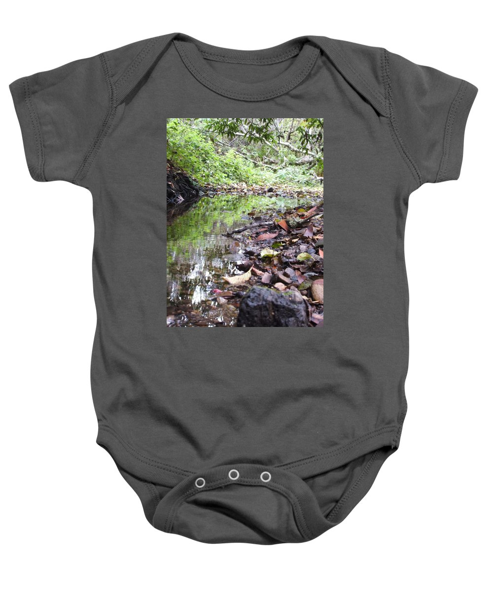 Woods Baby Onesie featuring the photograph Reflection by Shari Chavira
