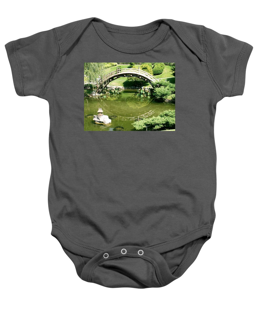 Nature Baby Onesie featuring the photograph Reflections by Amy Fose