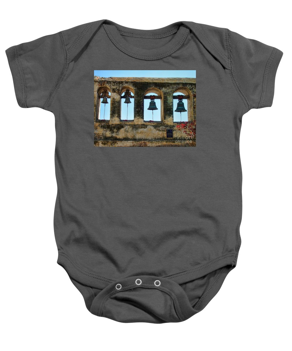 Ringing Bells Baby Onesie featuring the photograph Ringing Bells by Mariola Bitner