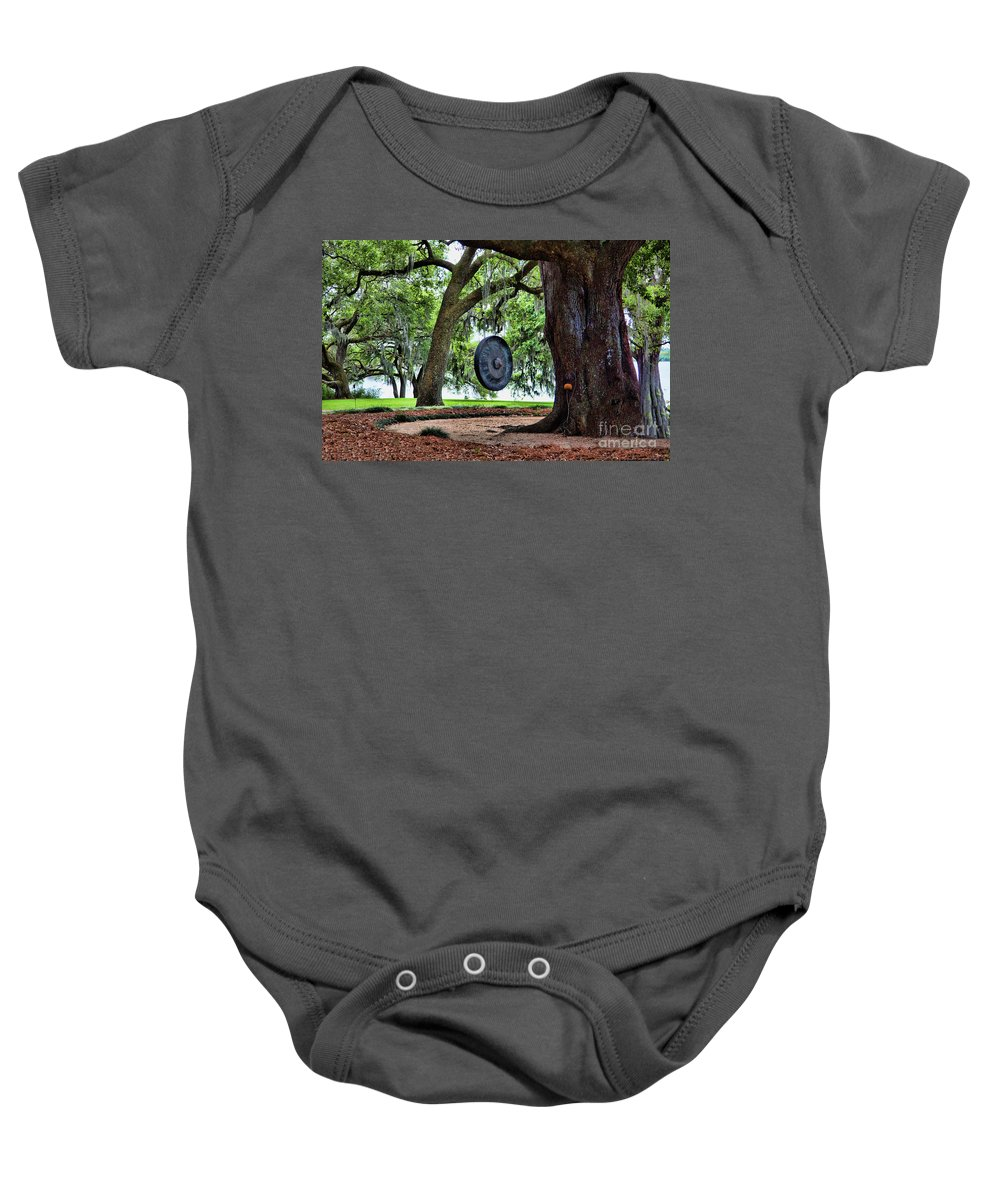Landscape Baby Onesie featuring the photograph Rip Van Winkle Gardens I by Chuck Kuhn