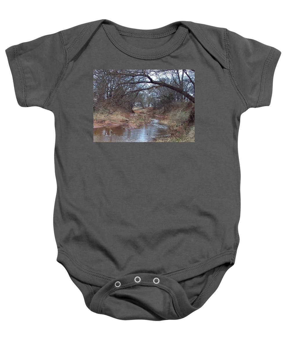Landscapes Baby Onesie featuring the photograph Rivers Bend by Shari Chavira