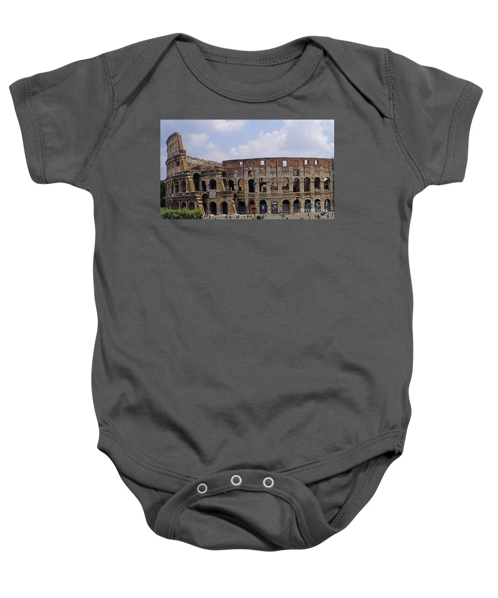 Rome Baby Onesie featuring the photograph Rome 21 by Ben Yassa