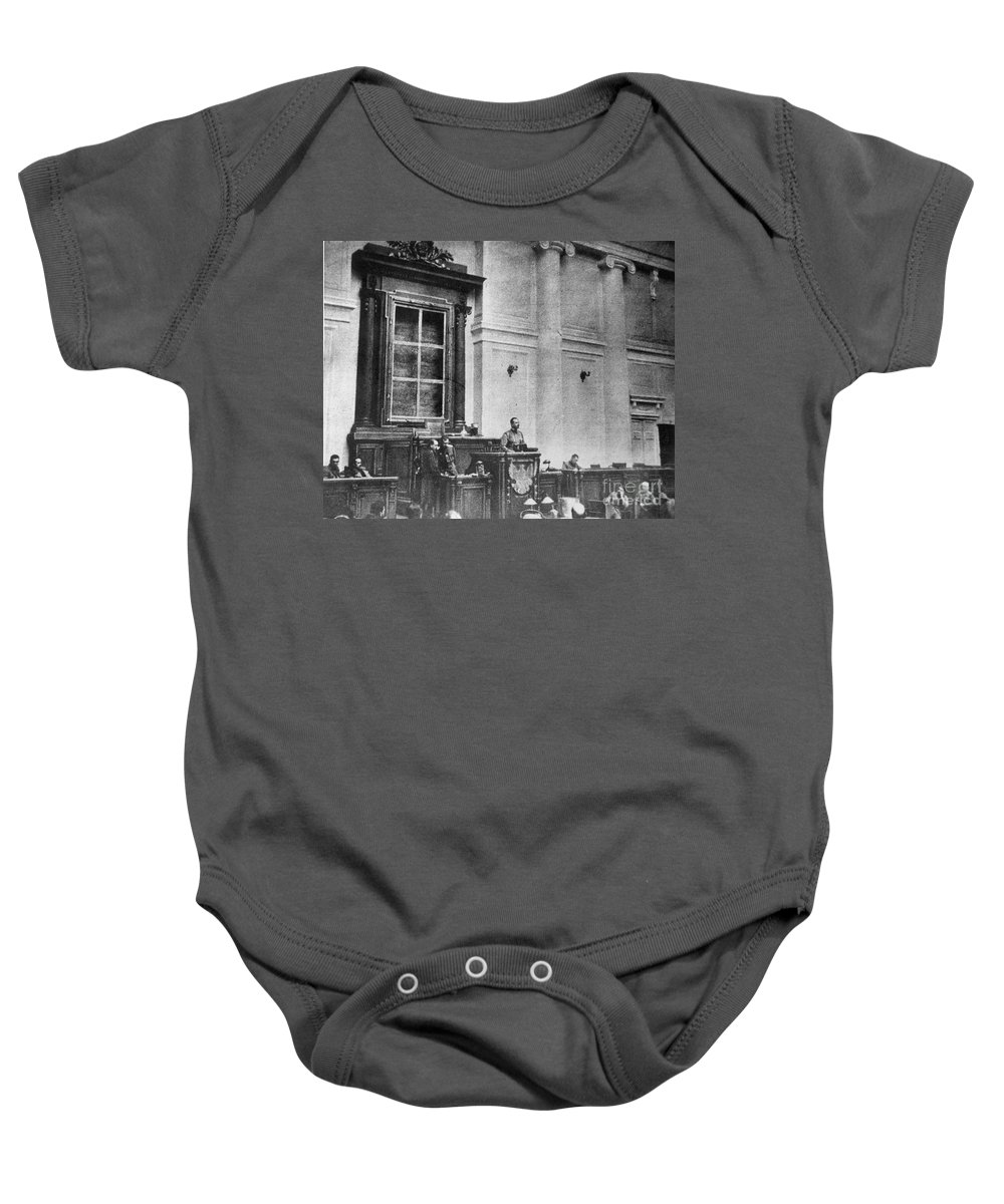 1917 Baby Onesie featuring the photograph Russia: Revolution Of 1917 by Granger