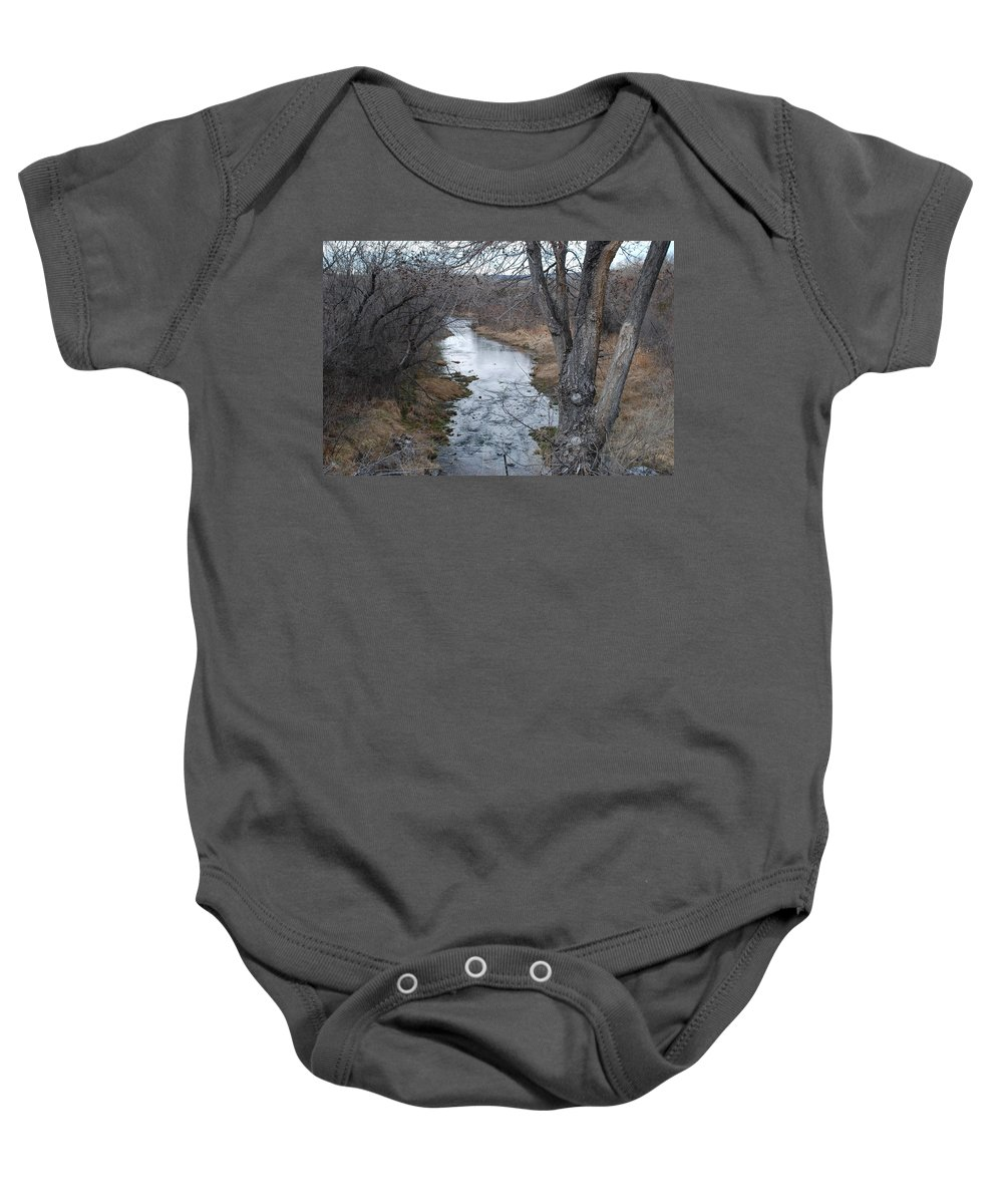 Santa Fe Baby Onesie featuring the photograph Santa Fe River by Rob Hans
