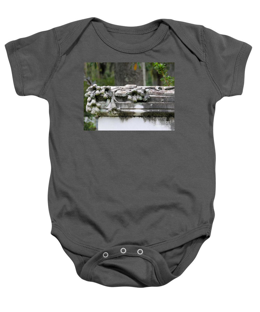 Bonaventure Baby Onesie featuring the photograph Savannah Bonaventure by Katherine W Morse