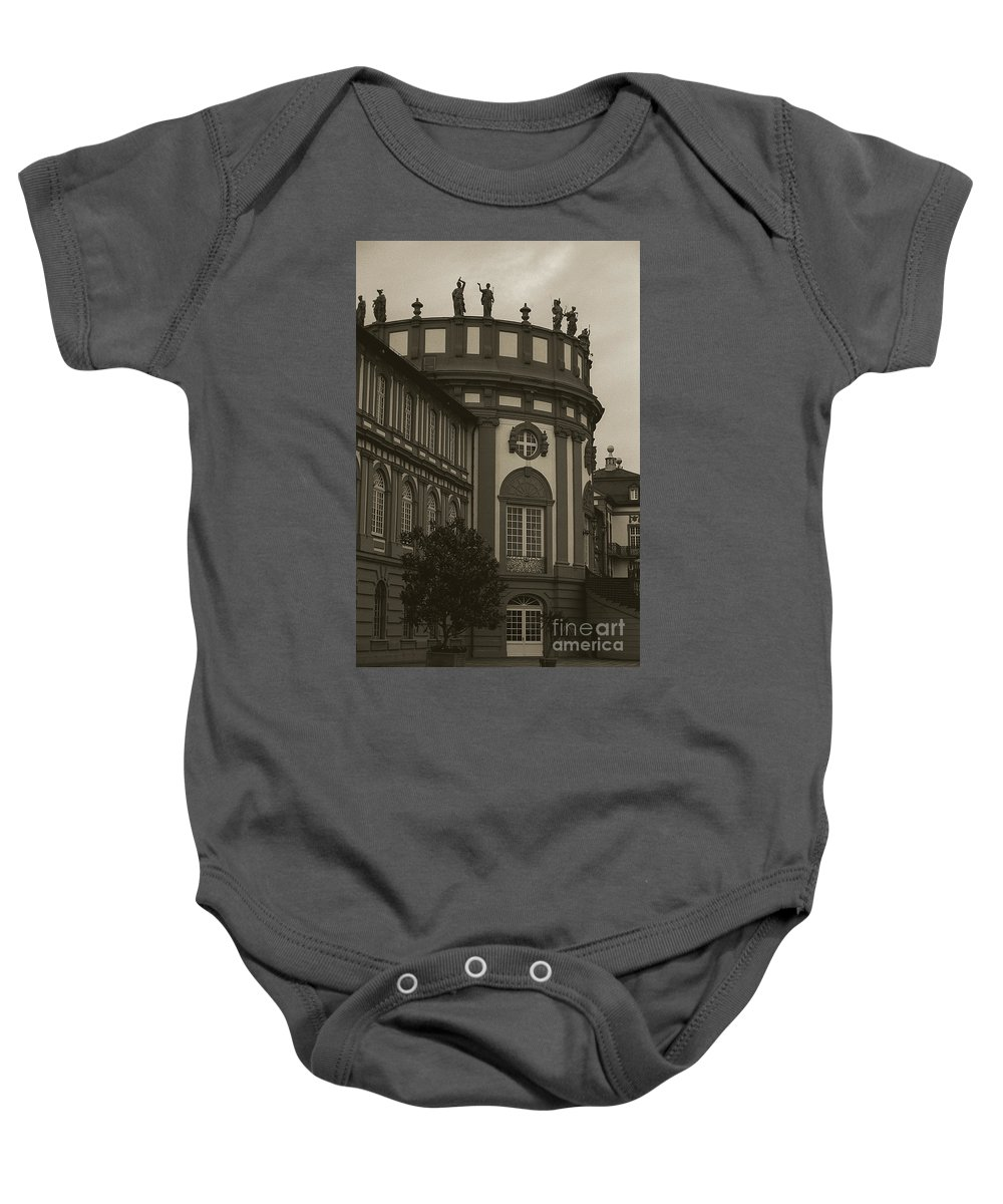 Germany Baby Onesie featuring the photograph Schlosspark Biebrich by Jim And Emily Bush