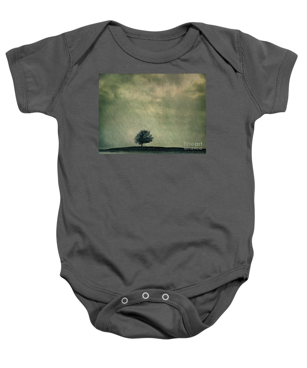 Blue Baby Onesie featuring the photograph Screaming At The Top Of My Voice by Dana DiPasquale