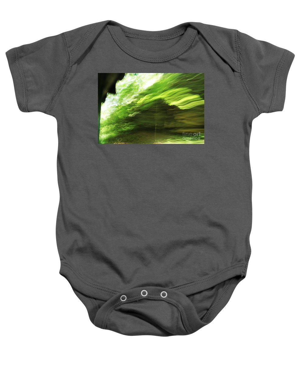 Baby Onesie featuring the photograph Sensations by Jamie Lynn