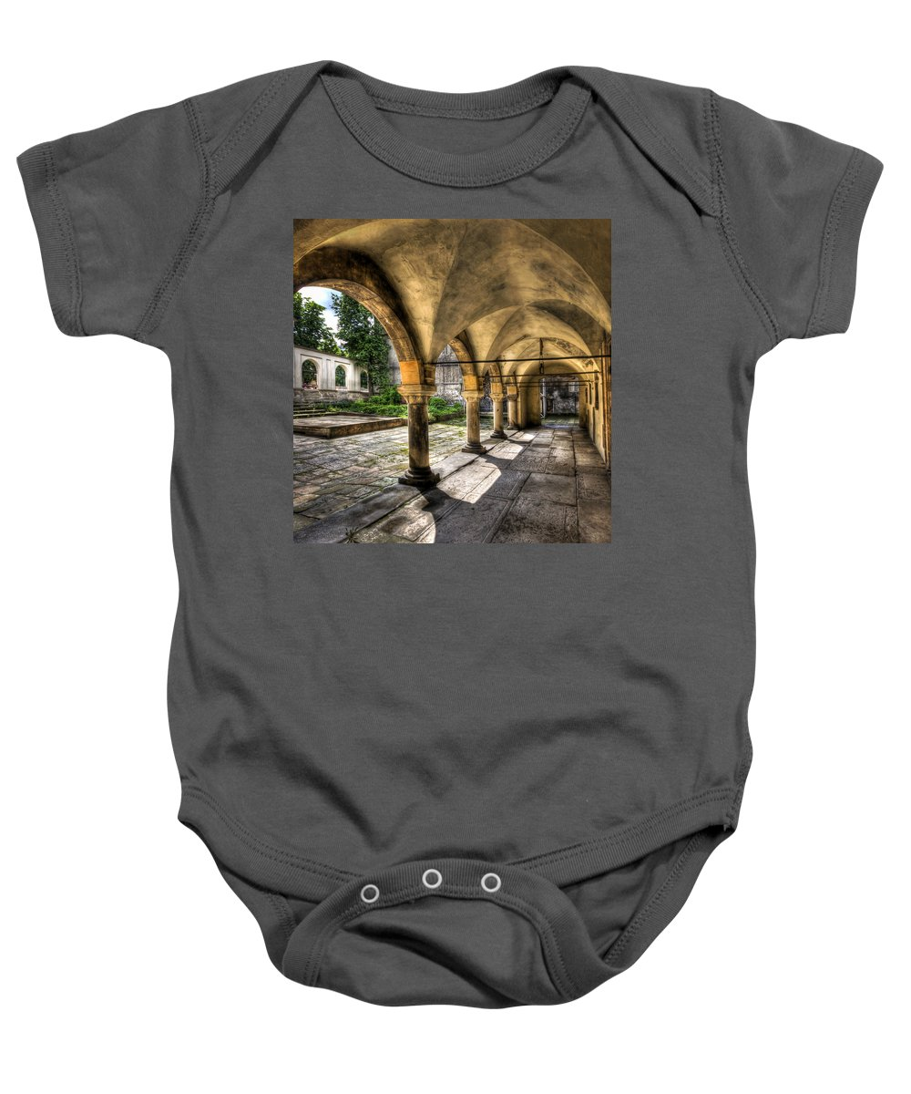 Armenian Baby Onesie featuring the photograph Shadow Of The Day by Evelina Kremsdorf