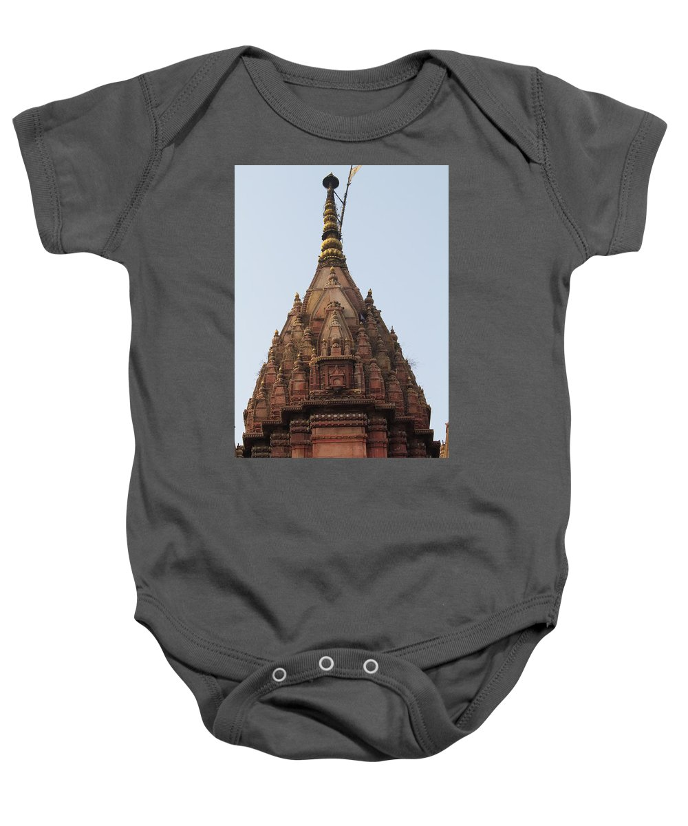 Asia Baby Onesie featuring the photograph Shrine by Emily M Wilson