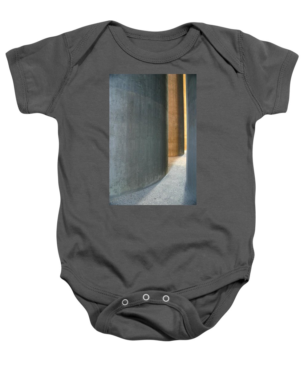 Silver Baby Onesie featuring the photograph Silver And Gold In Belgium by Minaz Jantz