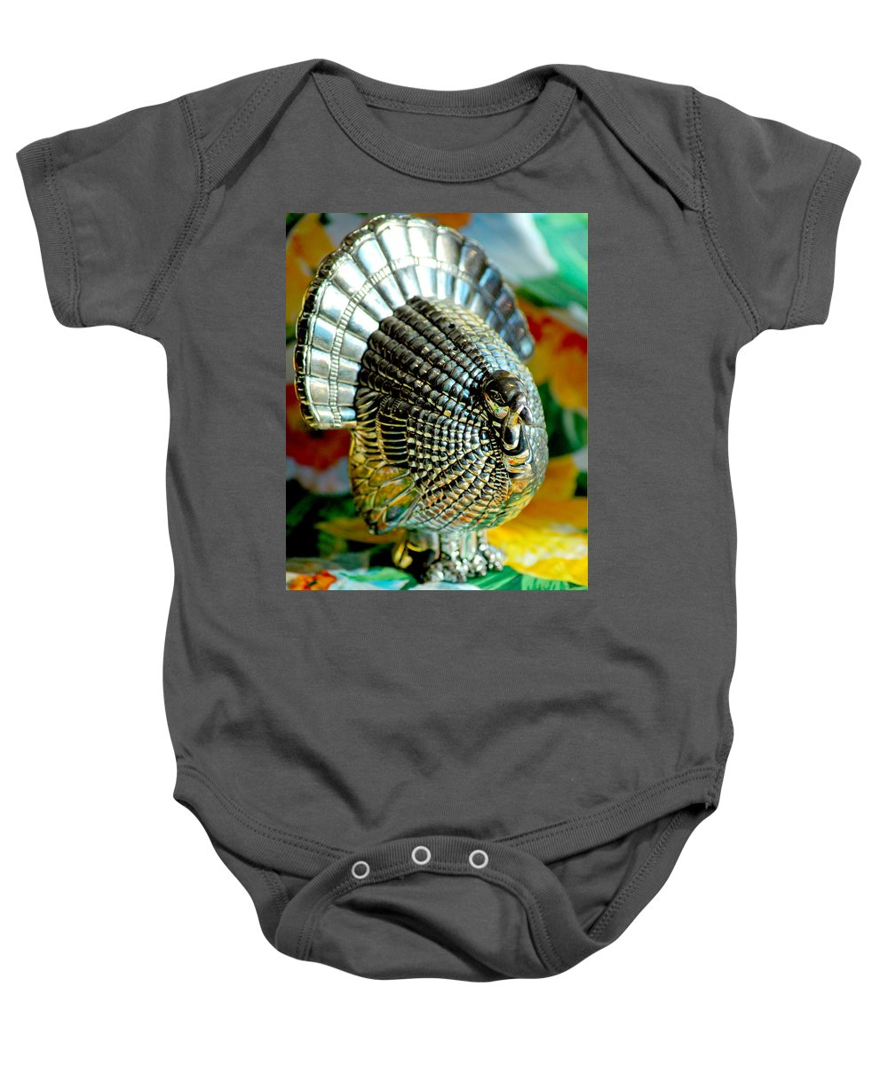 Landscapes Baby Onesie featuring the photograph Silver Turkey Left by LeeAnn McLaneGoetz McLaneGoetzStudioLLCcom