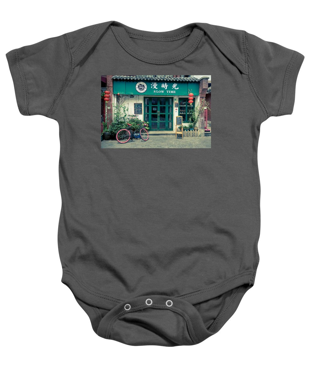 China Baby Onesie featuring the photograph Slow Time by Matt Malloy