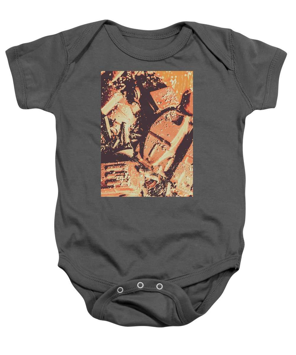 Party Baby Onesie featuring the photograph Smashing Party by Jorgo Photography - Wall Art Gallery