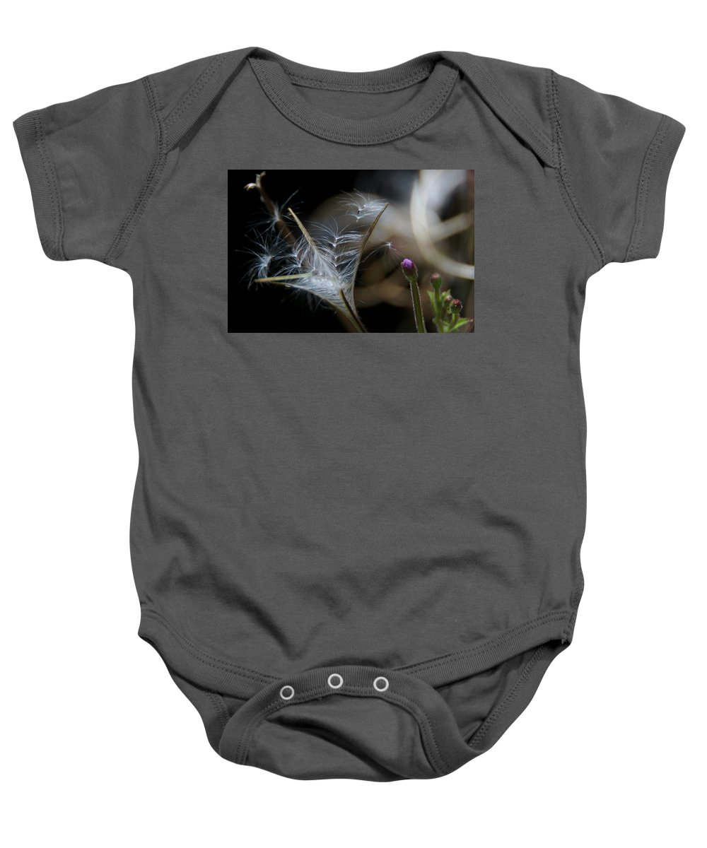Flowers Baby Onesie featuring the photograph Soft Little Flowers by Wolfgang Stocker